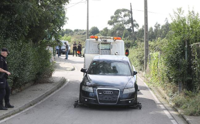 La Policía detiene a seis personas y se incauta de dinero, droga y coches en La Reguera, Avilés