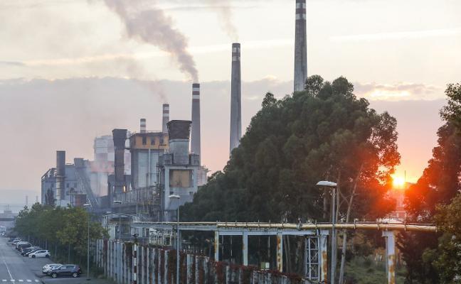 Arcelor advierte de que el 15% de su producción en Asturias no es rentable por los costes de CO2