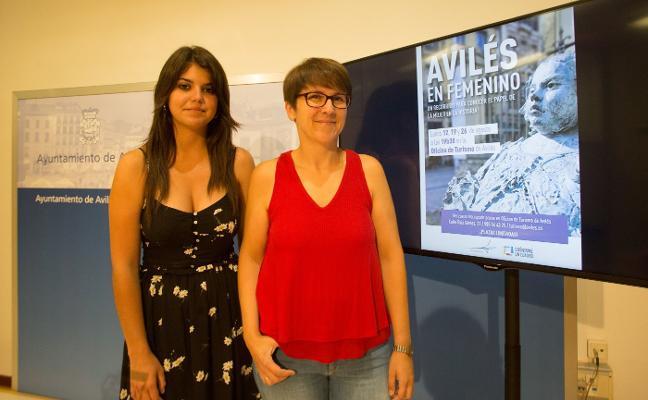 Avilés ofrece visitas guiadas para conocer la ciudad en clave femenina