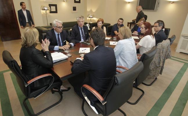 Parter presentará en tres meses su plan estratégico para la planta de Avilés