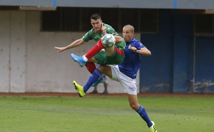 Real Oviedo 1 - 2 Alavés, en imágenes