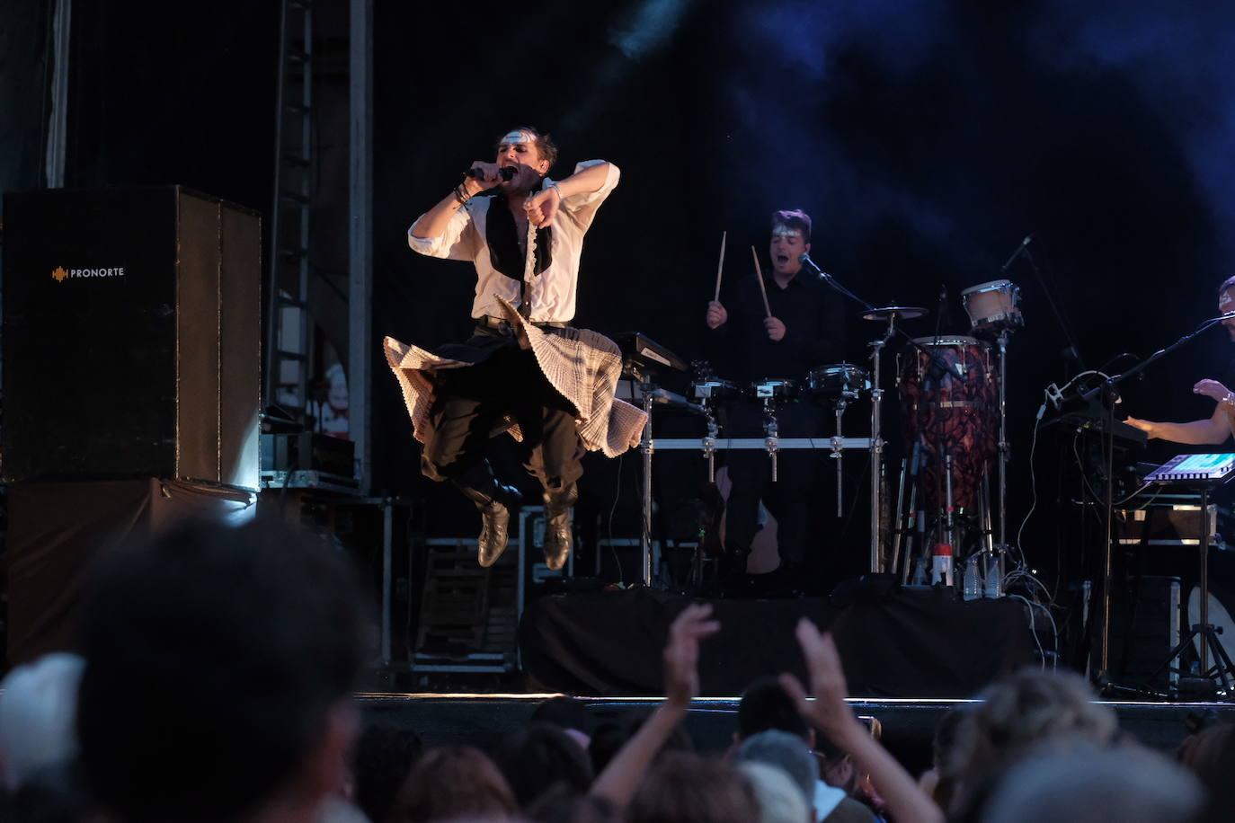 El espectáculo rompedor de Mastodonte en Gijón