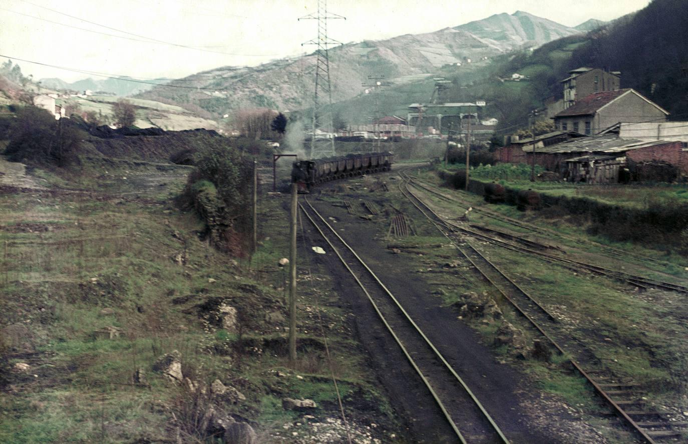 Los colores de la Asturias de los 60