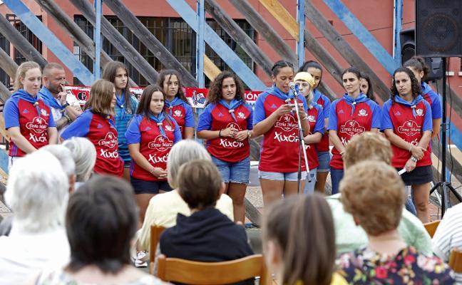 «Sumaros a nuestra hinchada», anima el Gijón Fútbol Femenino