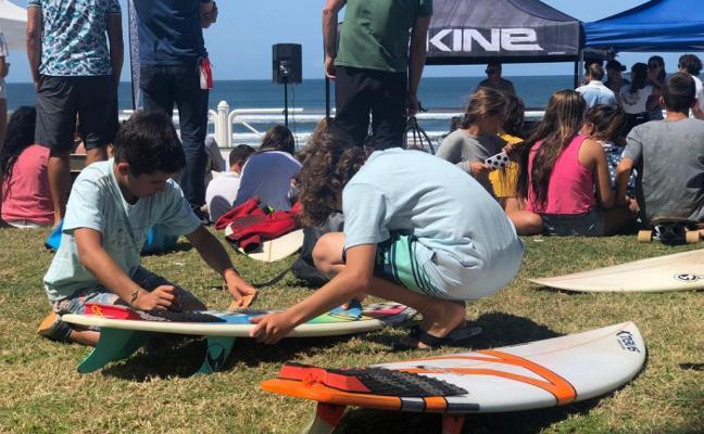 Surf solidario con la Fundación Jaime Alonso Abruña y Espartal