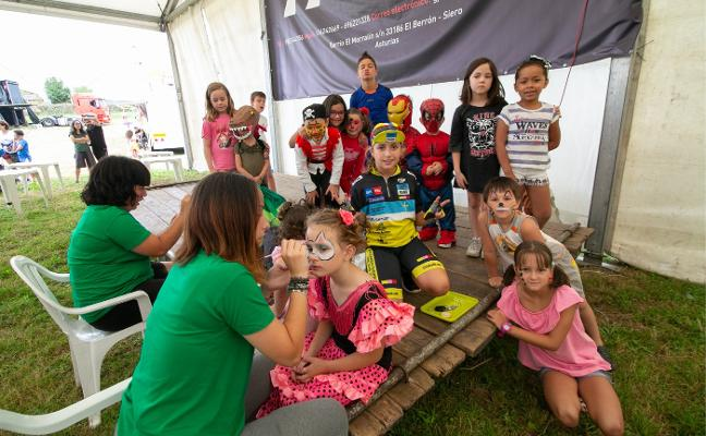Motocross y talleres infantiles en Valdesoto