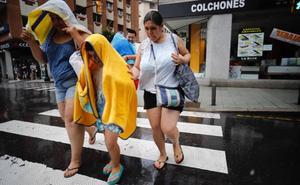 Las fuertes lluvias ponen a Asturias en alerta