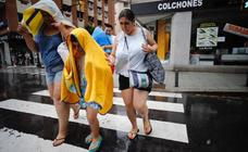 Domingo de tormentas en Asturias