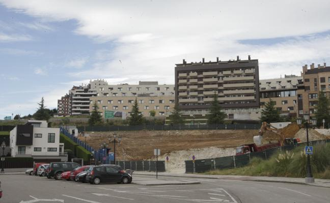 Avanzan las obras de la residencia de Montecerrao