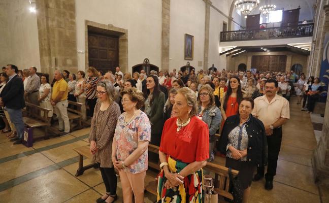Misa de Acción de Gracias para despedir al párroco Jorge Cabal