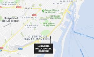 Hallan el cadáver de una mujer debajo del remolque de un camión en Barcelona