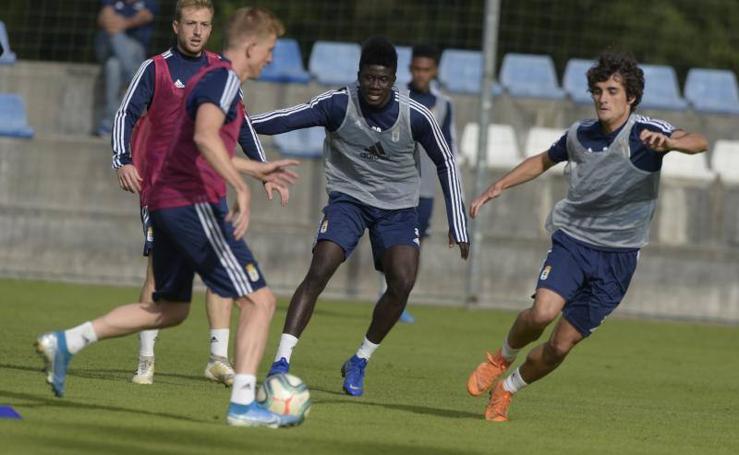 Entrenamiento del Real Oviedo (12-08-2019)