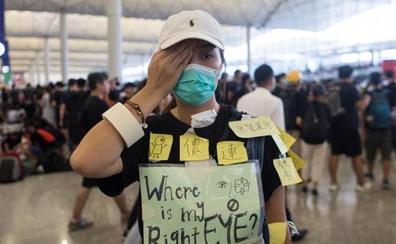El aeropuerto de Hong Kong reanuda los vuelos