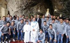El Real Oviedo visita Covadonga