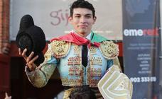 Isaac Fonsea, Puerta Grande en la Feria Taurina de Begoña