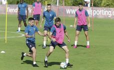 Entrenamiento del Sporting (13/08/19)
