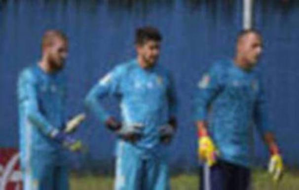 Entrenamiento del Real Oviedo del 14 de agosto de 2019
