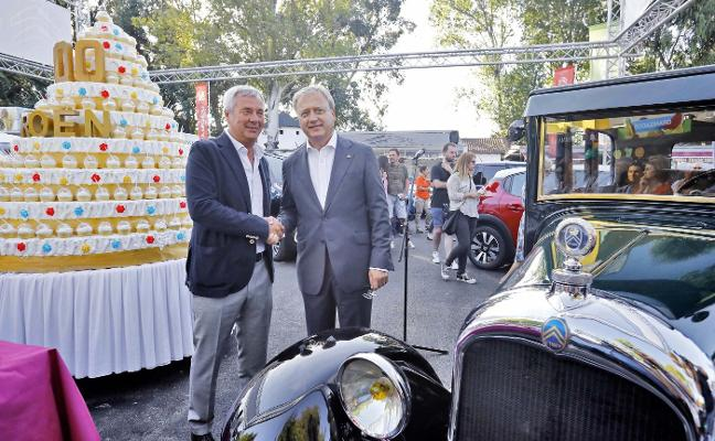 Citroën y Valgisa soplan las velas por sus cumpleaños