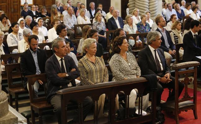Misa por Elvira Francos en Somió