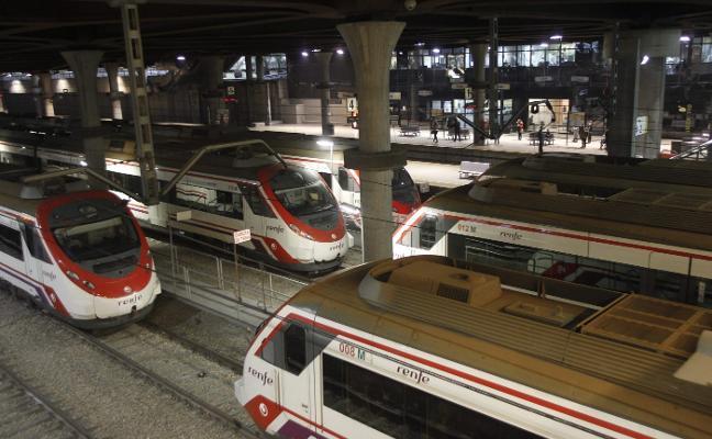 Solo el 12% de cercanías de Renfe entre Gijón y Oviedo son trenes directos