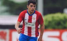 El Sporting ata al central juvenil David Fernández hasta 2022