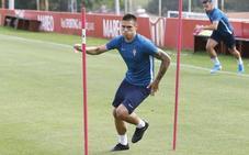 Entrenamiento del Sporting (14-08-19)