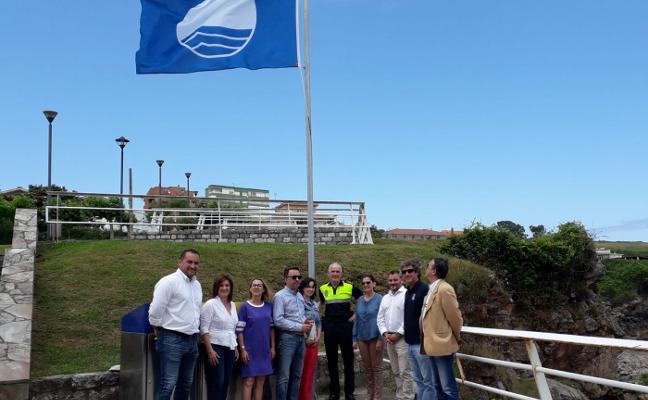 El Museo de Anclas de Salinas mantiene la Bandera Azul pese a la falta de mejoras