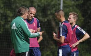 Real Oviedo | Sergio Egea no esconde sus armas