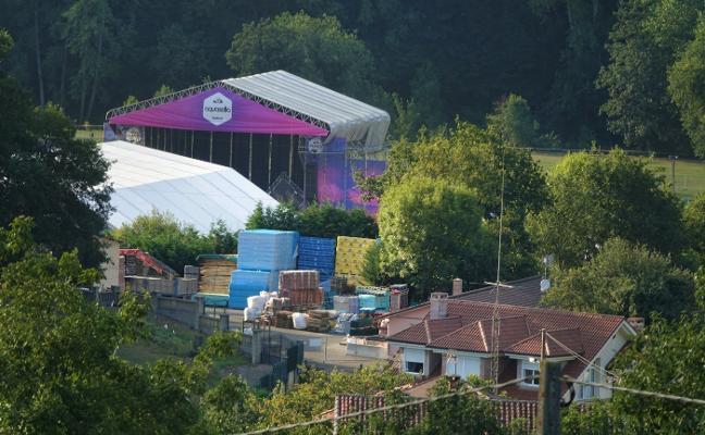 Coviella reclama una compensación por las molestias del festival Aquasella