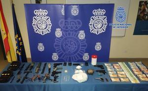 Desmantelado un importante punto de distribución de heroína en Asturias