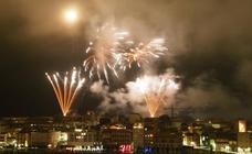 Así fue la noche de los Fuegos en Gijón