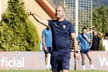 Entrenamiento del Sporting (15/08/2019)