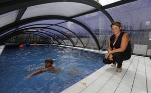 «Tener una piscina no es de ricos, sino algo que te cambia la vida»