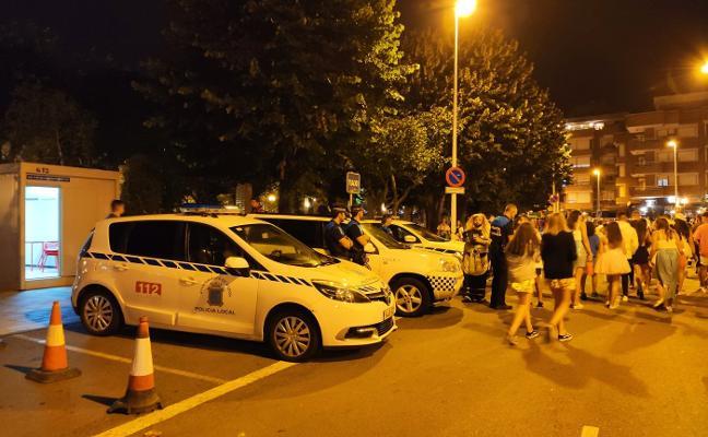 La investigación descarta dos supuestos ataques sexuales en el carnaval de Luanco