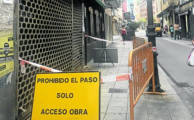 La casa en ruinas de La Felguera ya tiene permiso de reforma