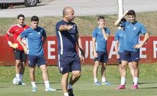 Entrenamiento del Sporting (16-08-2019)