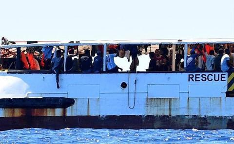 Salvini insiste en negar el atraque del 'Open Arms': «¿Reapertura de puertos? No en mi nombre»