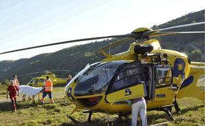 Rescatan a un montañero de 65 años con síntomas de agotamiento en Ibias