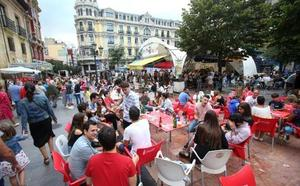 Oviedo mantendrá el modelo de chiringuitos de San Mateo y los horarios de 2018