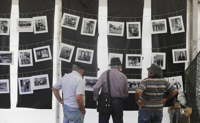 El prau Nardón se llena de exposiciones, charlas y talleres antes del Descenso