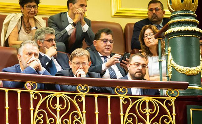 Los presidentes regionales del PSOE se unen al Principado contra la rebaja fiscal de Madrid