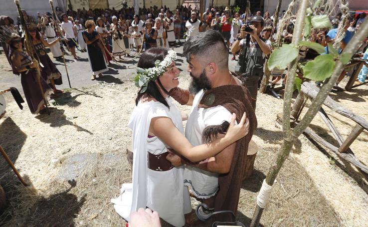 Carabanzo se convirtió en pueblo Astur