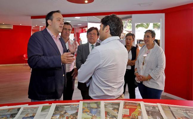 Villaviciosa quiere instalarse en el recinto «con estand, actividades y día oficial»