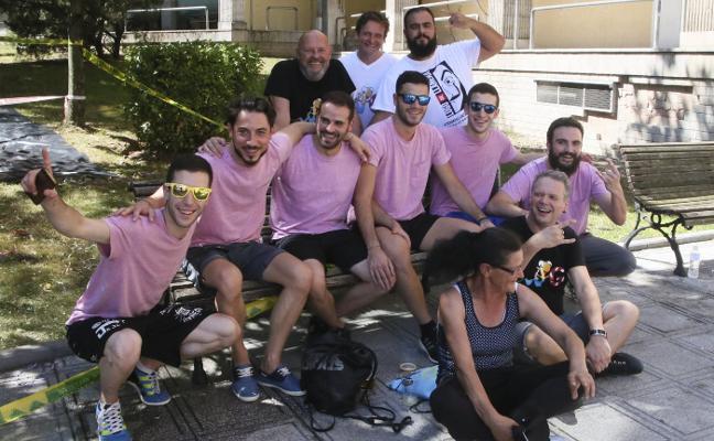 Grand Prix calienta las fiestas de Lugo de Llanera