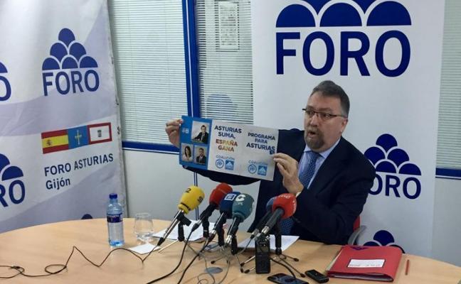 Foro recuerda al PP que la marca Asturias Suma ya se usó en anteriores campañas