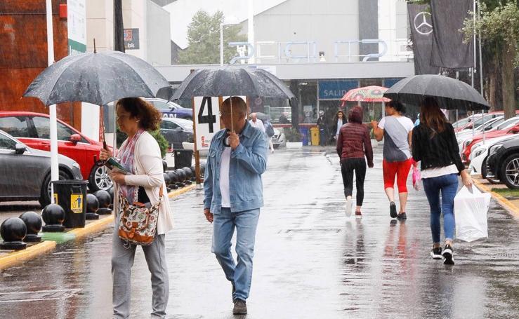 La Feria de Muestras, pasada por agua en su última jornada