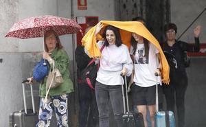 Las lluvias vuelven al verano asturiano