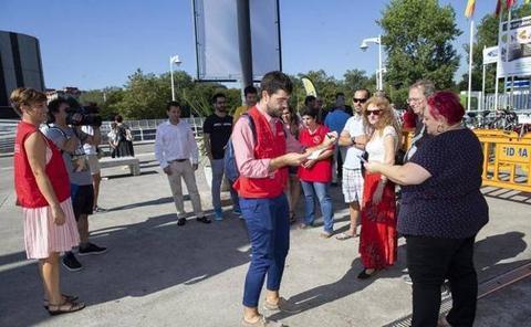 'Reporteros por un día' en la Feria de Muestras: así se hizo
