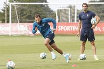 Entrenamiento del Sporting (19/08/2019)