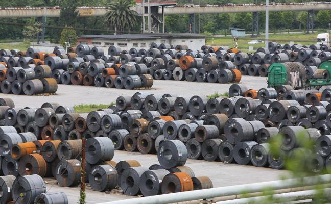 Arcelor estudia crear en Avilés una nueva línea para recubrir el acero de zinc por electrolisis